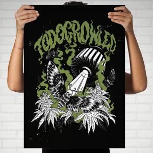 Camiseta TodoGrowLed Gris
